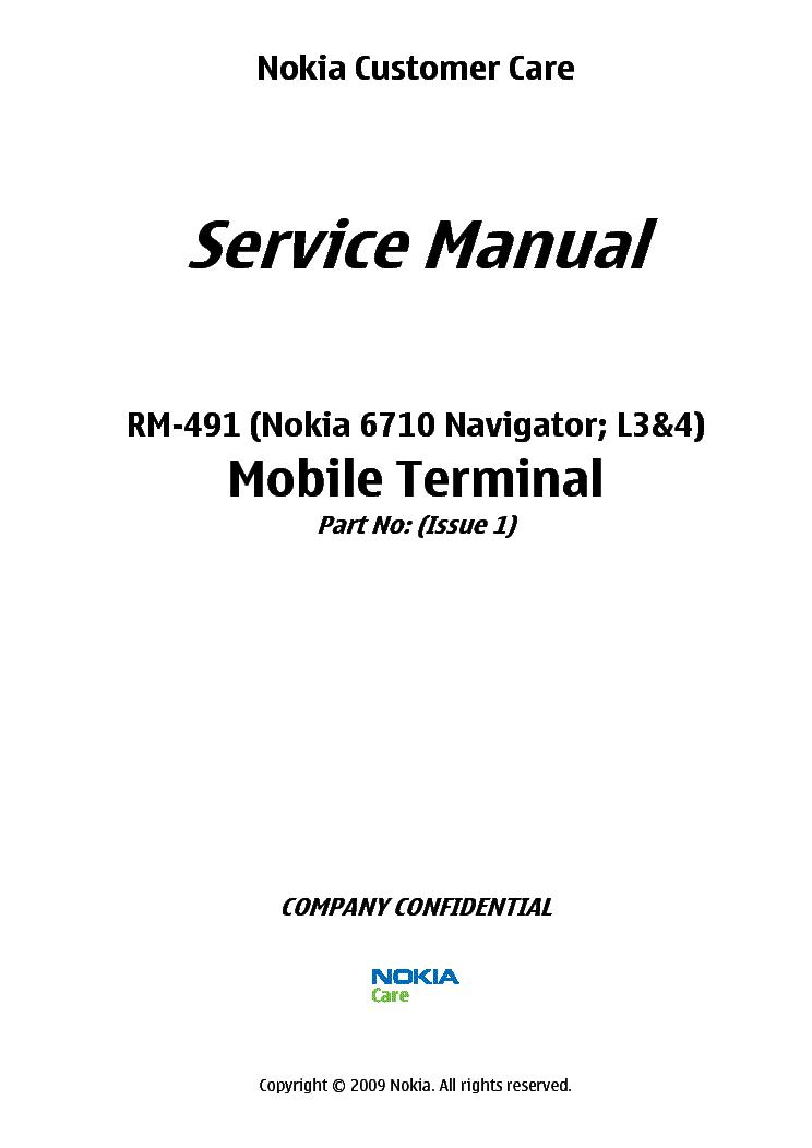 (pdf) Nokia 3110c Schematic